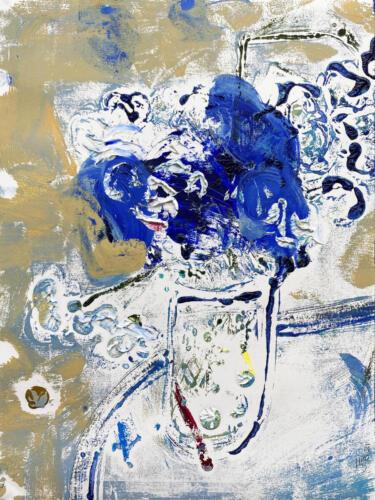 Fleur De Sel 01 (Blue-White) 2021