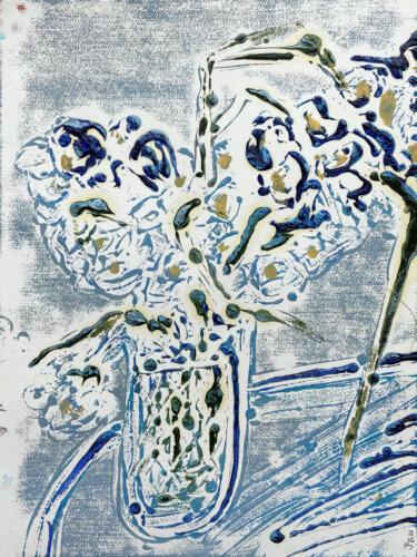 Fleur De Sel 02 (Blue-White-Carmel) 2021