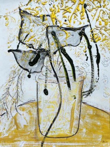 Fleur De Sel 08 (Gold-Black-White) 2021