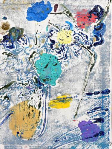 Fleur De Sel 09 (Blue-Colorful) 2021